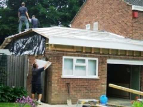 Tm Roofing Fleet Porch Amp Garage Roof Conversion