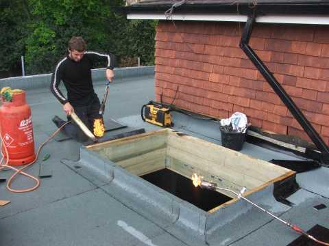 Tm Roofing Fleet Strip And Re Felt Flat Roof