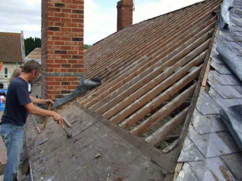 Tm Building In Fleet Hampshire Re Slate Amp Re Tile Roof