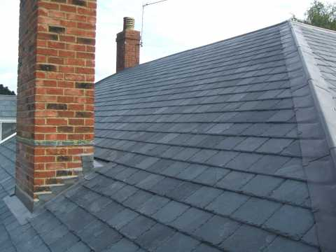 Tm Building In Fleet Hampshire Re Slate Amp Re Tile Roof